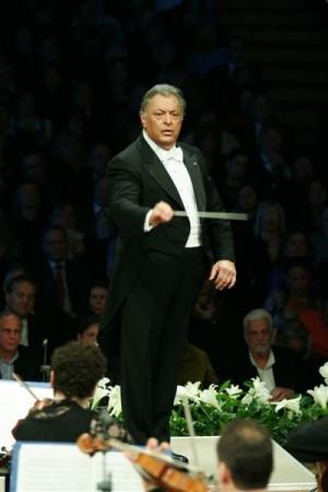 Zubin Mehta, conductor